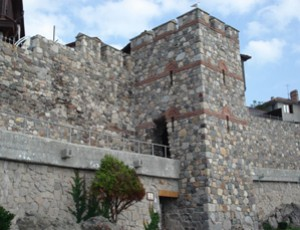 Museum complex Southern fortress wall and tower